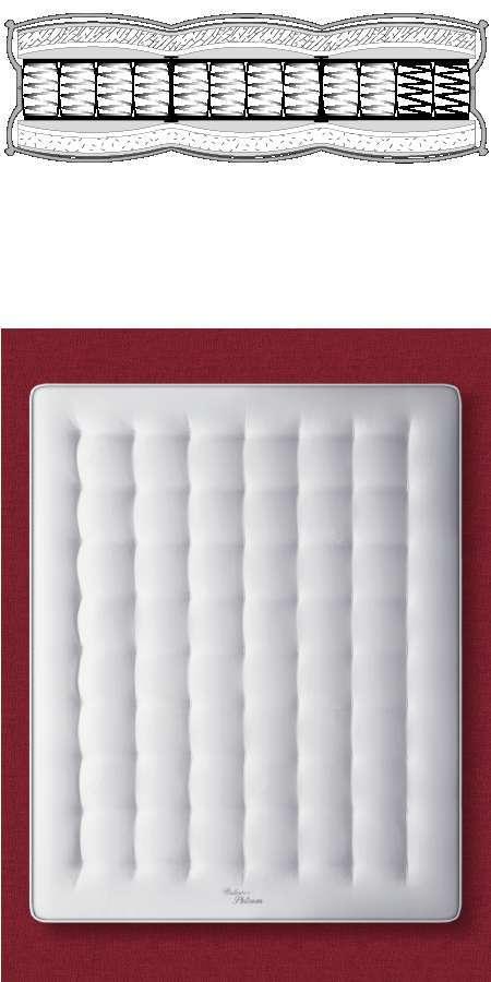 Materasso Platinum Silhouette